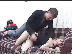 Russian young girl brutal fucked 7p