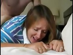 Crying Milf Painfull Anal Fuck