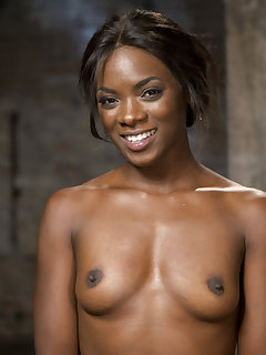 Bound ebony girl pictures