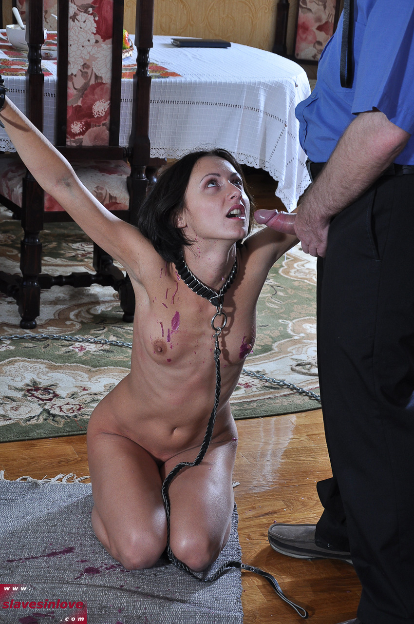 Sub Sex Slaves Punished By Male Master