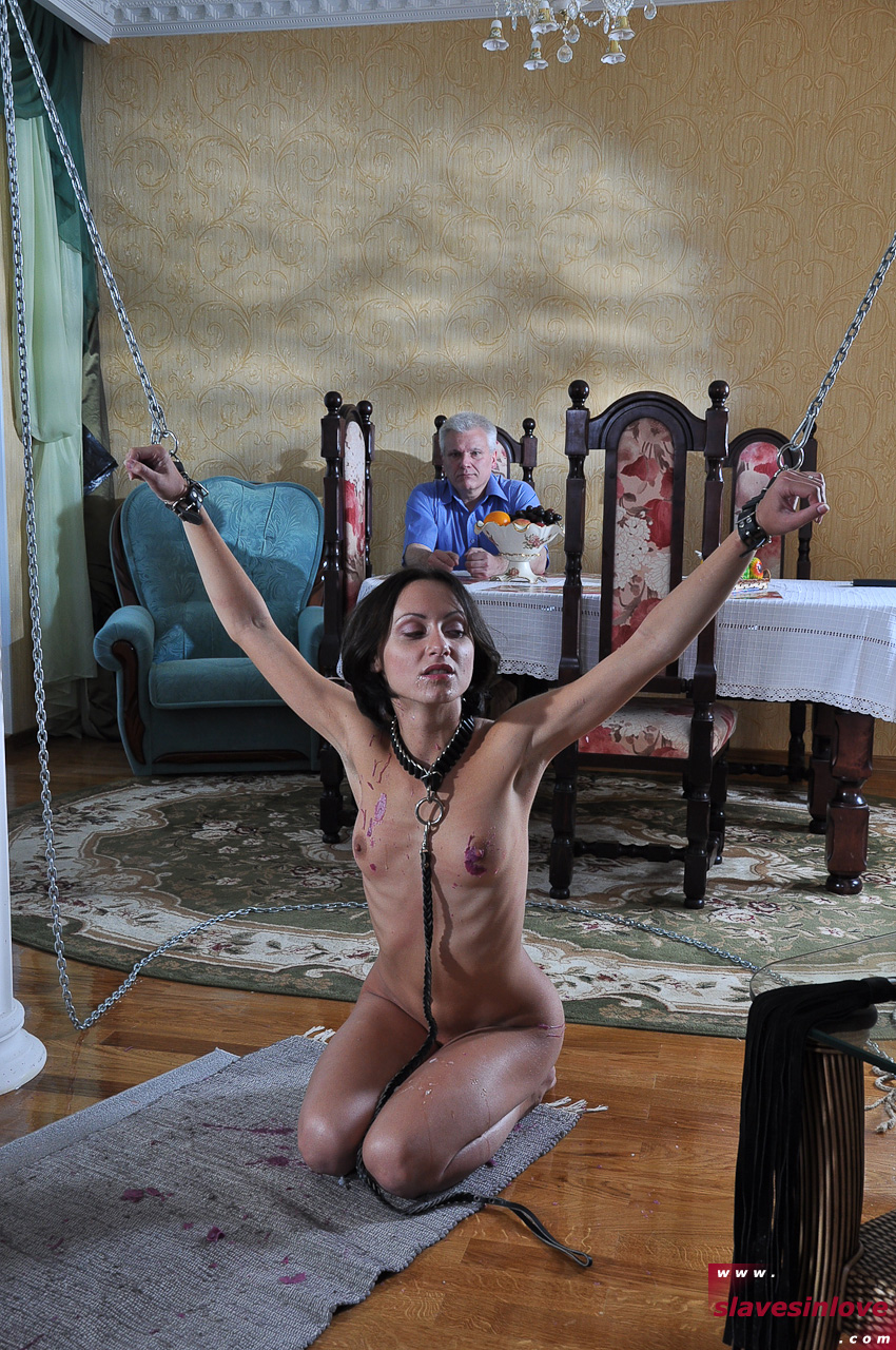 Slaves Love To Be Tied Up And Be Submissive To Master