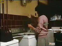 Stranger forces woman on washing machine while nephew watch scene