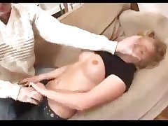 Sexy Blonde With Great Body Forced