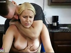 Daddy Forced to Fuck Big Titts